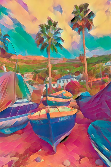 Lynn Bolt | Colourful Boats