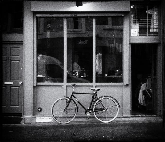 Lynn Bolt | Shop Front with Bicycle