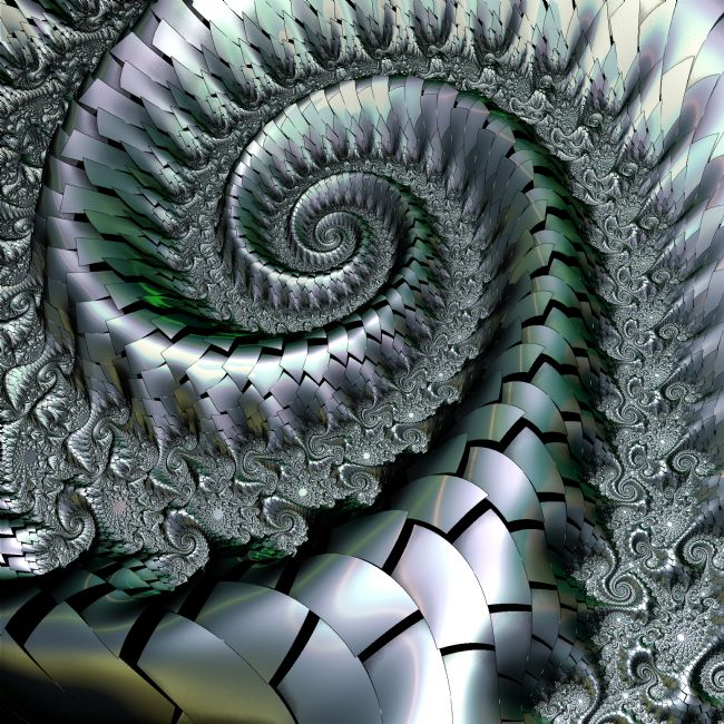 Lynn Bolt | Metallic Spiral