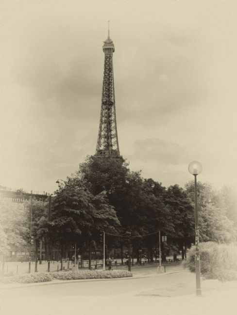 Lynn Bolt | Antique Eiffel Tower