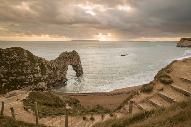 Michael Greaves | Durdle Door at sunset