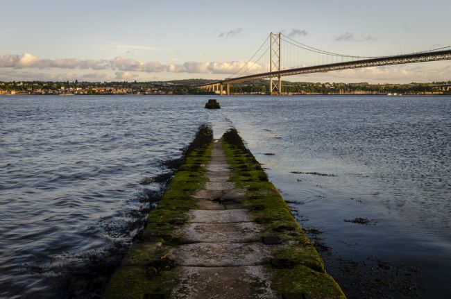 Warren Byrne | Queensferry Jetty into the Firth of Forth